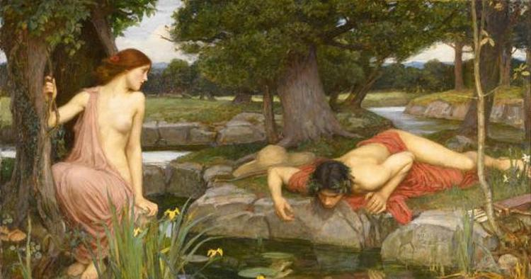 John William Waterhouse Echo and Narcissus Google Art Project 550x289