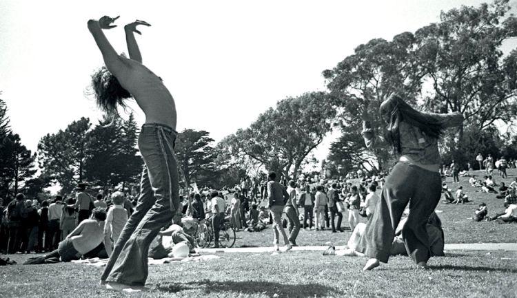 woodstock dancing