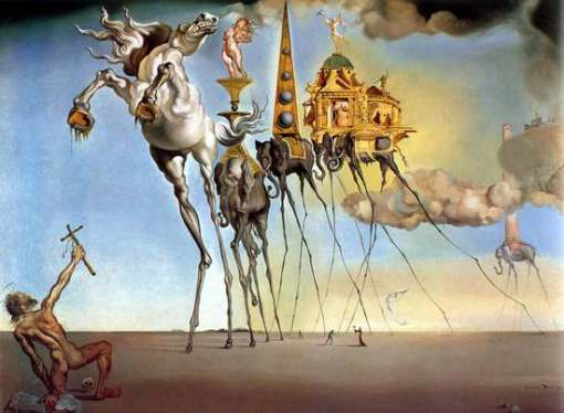 dali temptation of st anthony